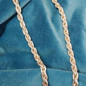 "Cookie Lee chain. Triple link. 24"""
